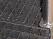 Stainless steel Square Grilled Grating